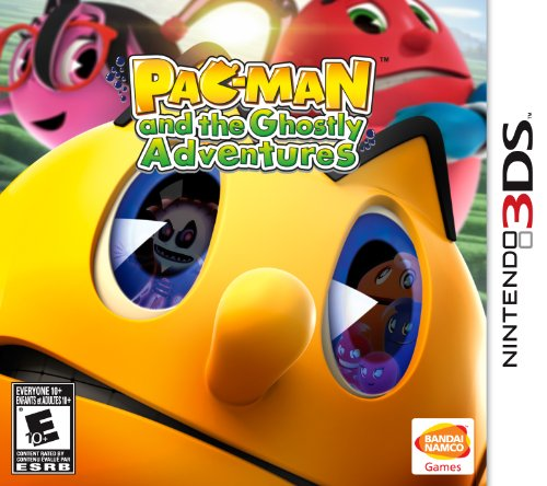 Namco Bandai Games PAC-MAN and the Ghostly Adventures, 3DS