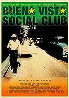ポスター ブエナ ビスタ ソシアル クラブ Buena Vista Social Club 1999年 ライ クーダー/キューバ/ヴィム ヴェンダース