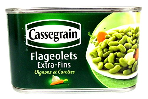 Cassegrain, Flageolets Bohnen extra fein, Füllmenge 400g / ATG 265g