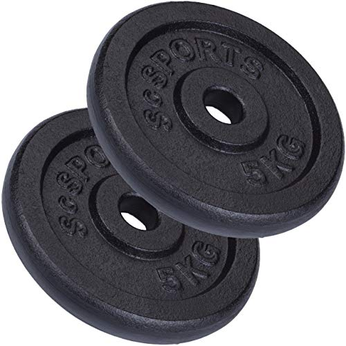 ScSPORTS ScSPORTS 10 kg Hantelscheiben-Set, 2 Bild