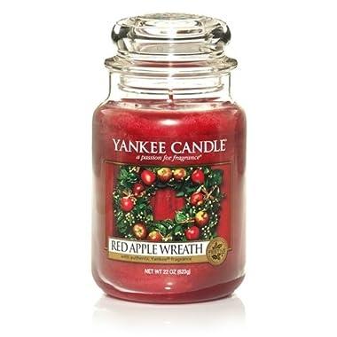 Yankee Candle Red Apple Wreath 22oz Large Jar