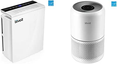 LEVOIT Air Purifier for Home Bedroom, H13 True HEPA Filter for Extra-Large Room & Air Purifier for Home Allergies in Bedroom, H13 True HEPA Air Purifiers Filter, for Large Room, Core 300, White