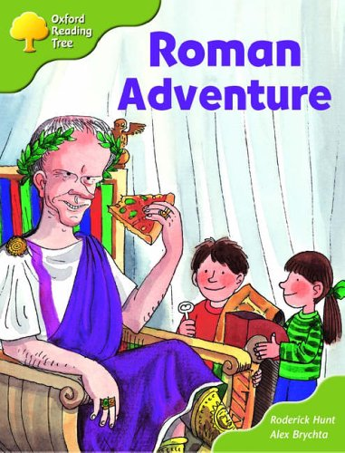 Oxford Reading Tree: Stage 7: More Storybooks (magic Key): Roman Adventure: Pack Aの詳細を見る