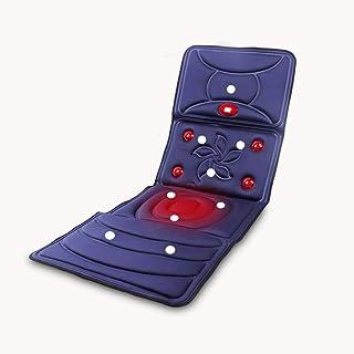 Massage Mat with Heat, Mat Massager Massaging Mats of 9 Motors,Vibrating Massage Mattress Pad with 3 Heating Pads for Neck...