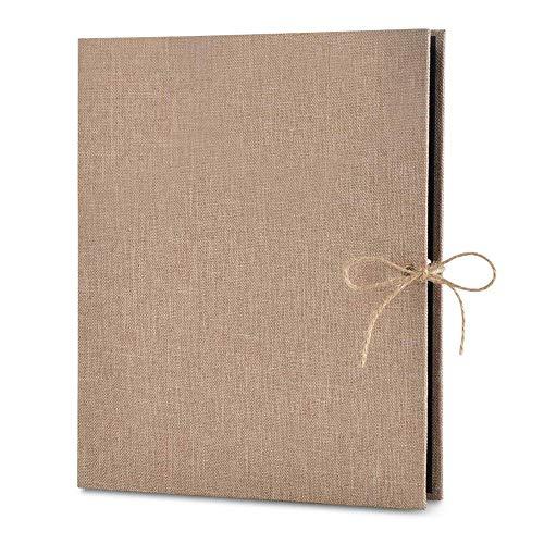 HPiano Álbum de Fotos DIY,Álbum de Fotos Scrapbook álbum de Fotos Autoadhesivo Libro de Invitados Boda Aniversario Regalo del día de San Valentín Navidad para Mujer Novia Regalos
