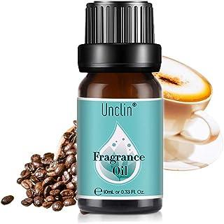Unclin Aceites de Frangancia Aceites Esenciales para Humidificador Aromaterapia para Hogar Oficina 10ml - café
