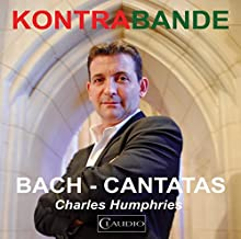 Bach: Cantatas [Charles Humphries, Alexandra Bellamy, Clare Salaman] [Claudio: CR5154-2] by Charles Humphries