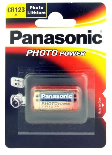 Panasonic - CR123 Lithium Batterie 3V - CR123