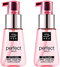 [Mise en Scene] Damaged Hair Perfect Repair Styling Oil Serum 2.4Oz/70ml (2-pack) / New concept serum from damage care to styling