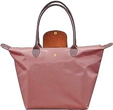 ZhengYue Bolsa de Playa de Lona Mujer Grande Bolso de Mano Shopper Bolsa con Cremallera
