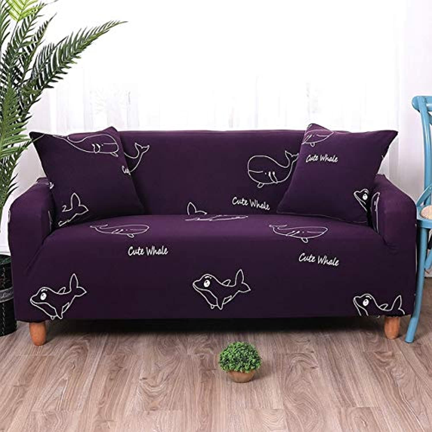 Fashion Printing Sofa Cover Spandex high Elasticity case Sofa Sofas for Living Room Removable Cleaning Essential Home   BLN-shlql, Single seat