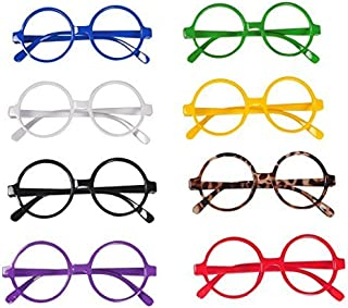 Joinwin Pack of 8 Fashion Cute Glasses Frame Without Lenses JIW056