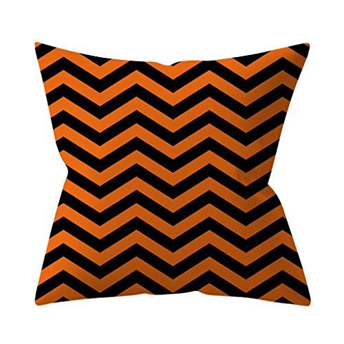 Beautyvan Decorative Throw Pillow Covers Toss Pillow Case Hidden Zipper Closure 18x18 inch (1~B)