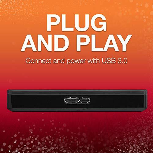 Disque dur externe Seagate Backup Plus Slim 2 To USB 3.0, noir - 2