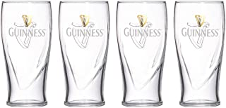 Guinness 20oz Gravity Pint Glass - 4 Pack
