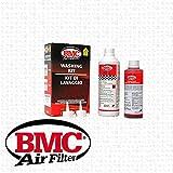 BMC Kit de nettoyage pour filtres à Air Sport pour voiture / moto - Détergent 500ml + Huile 250ml WA250-500