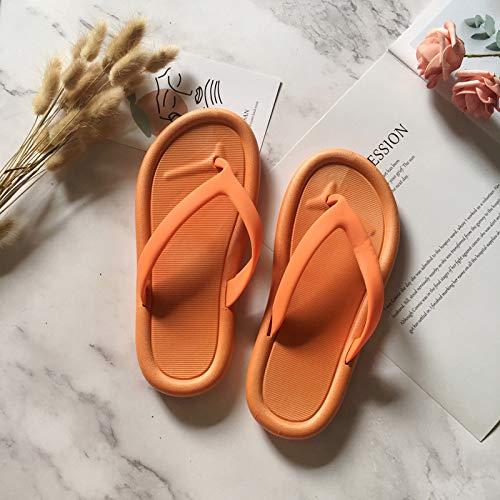 SGZBY Flip Flops Männliche Sandalen Und Hausschuhe Flip Flops Hausschuhe Outdoor Wasserdicht Einfarbig Outdoor Flip Flops