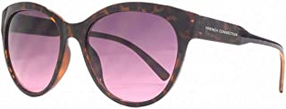French Connection Womens Easy Glamour Sunglasses - Brown/Pink