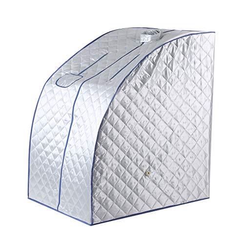 Redxiao Tragbare Dampfsauna Spa, 2L Personal Spa Home Dampfsauna zur Entspannung zu Hause, leichtes Spa Ganzkörper-Saunazelt(European regulations)