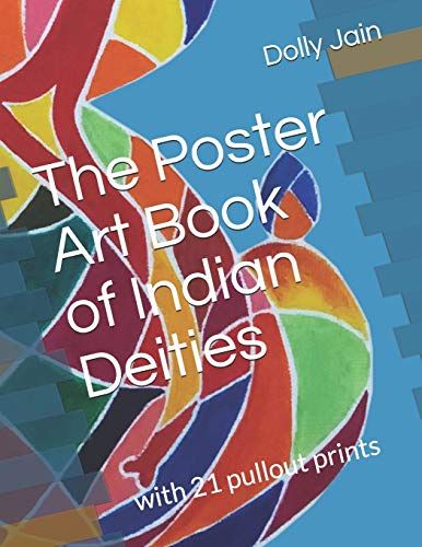 The Poster Art Book of Indian Deities: With 21 pullout prints
