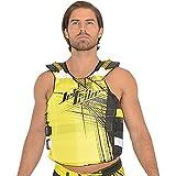 Spike USCG Life Vest PWC Jetski Ride & Race Jet Ski Vest (Yellow, S/M)