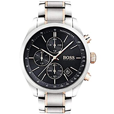 HUGO BOSS Men's Chronograph Quartz Watch with Stainless Steel Bracelet - 1513473