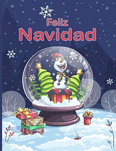 Feliz Navidad: Entra en la Magia de la Navidad con más de 100 relajantes dibujos de Renos, Papás Noeles, Trineos, Árboles de ... de nieve y mucho más!