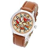 Disney ディズニー レディース腕時計 キッズ時計 かわいい プレゼント ギフト disney001 (七人のこびと)