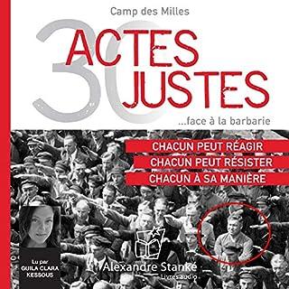Page de couverture de 30 Actes Justes