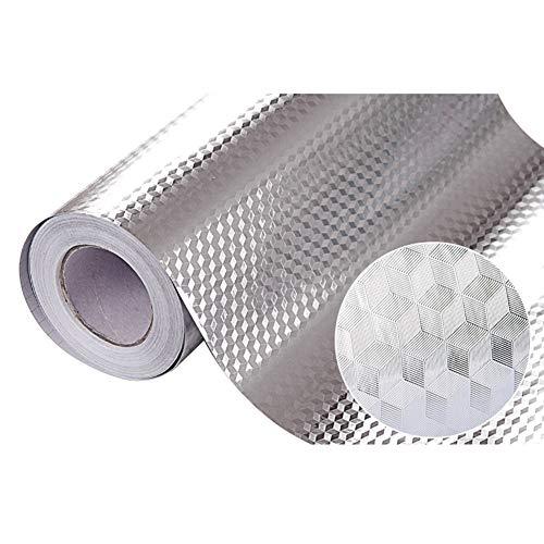 LYTEDB 40 * 100 cm keuken waterdichte olievaste sticker ladekast vochtbestendig aluminiumfolie papier