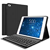 SENGBIRTH Keyboard Case for iPad Mini -Keyboard Case for iPad Mini 5 (5th Gen 2019) - Detachable Keyboard Magnetic Design - iPad Mini 4 - Mini 3 - Mini 2 & 1 - iPad Mini Case with Keyboard (Black)