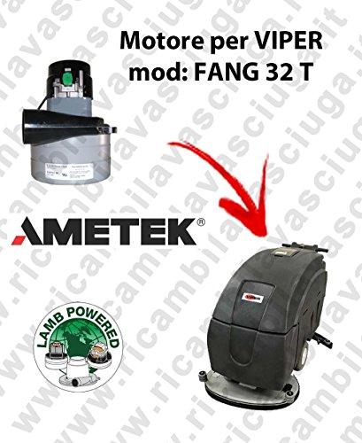 Motor Lamb Ametek de aspiración para mopa VIPER FANG 32 T