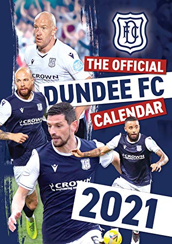 The Official Dundee FC A3 Calendar 2021
