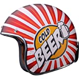 LS2 OF583 Helmet (Cold Beer, Small)