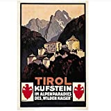 WTHKL Österreich Tourismus Reiseplakate Tirol Kufstein