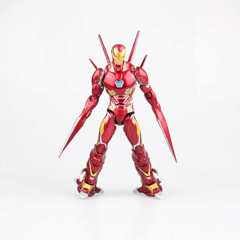 al precio mas bajo Anime Personaje De De De Juego De Dibujos Animados Iron Man Modelo Estatua Alto 16 Cm Ornamento Material De PVC FKYGDQ  salida