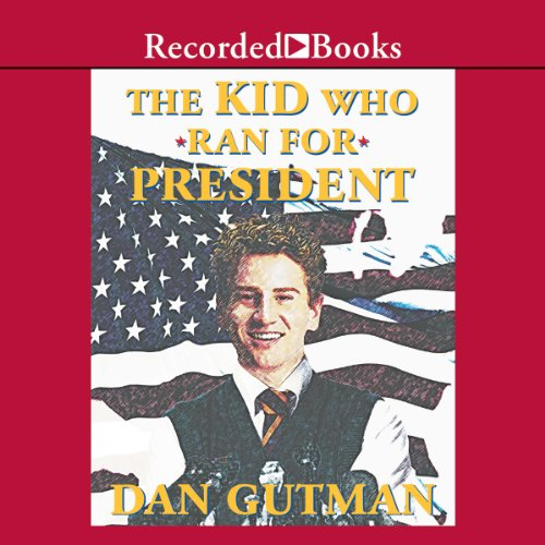 The Kid Who Ran for President audiobook cover art