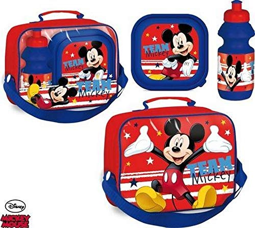 Disney Mickey Lunch Tas met Doos en Waterfles