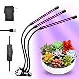 Tonpvou 30W LED Plant Grow Light,with Adjustable Rope,Full Spectrum Plant Light for Indoor