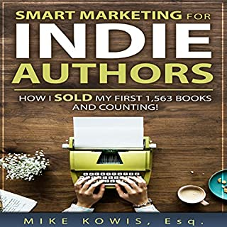 Smart Marketing for Indie Authors audiobook cover art