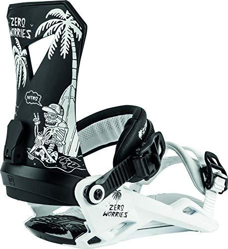 Nitro Snowboards Herren Zero '20 All Mountain Freestyle günstig Bindung Snowboardbindung Worries, L