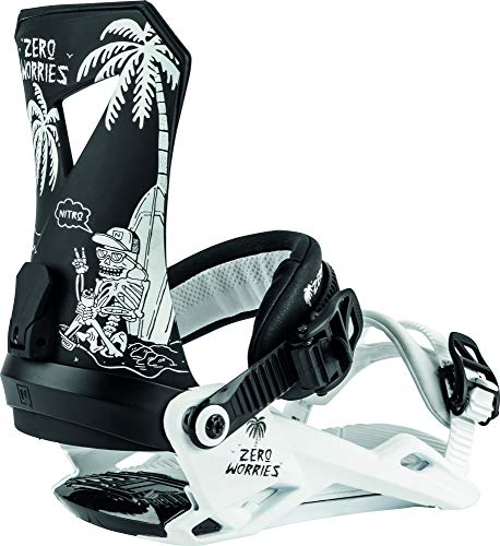 Nitro Snowboards Herren Zero '20 All Mountain Freestyle günstig Bindung Snowboardbindung Worries, L