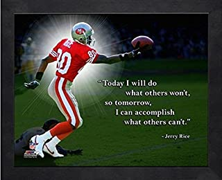 Jerry Rice San Francisco 49ers ProQuotes Photo (Size: 9
