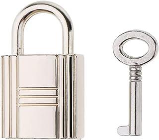 Lovoski Cute Square Padlocks Mini Pad Locks Suitcase Luggage Bags Pad Lock With Key