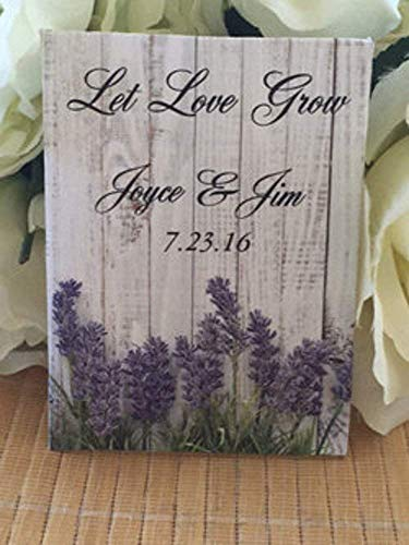 lavender seed packet favors for wedding with wood background (set of 50) - Lavender favors - Lavender favors - Purple favors