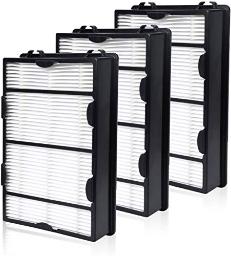 HAPF600 True HEPA Filter 3 Pack Replace for Holmes B Filter - Compatiable with HAPF600D HAP615...