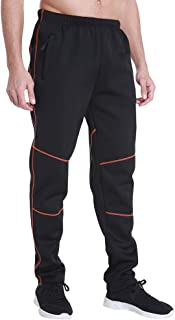 MAXTREE Men's Windproof Thermal Fleece Pants for Cycling Running Outdoor Sports in Winter