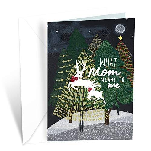 Prime Greetings Christmas Card Mother