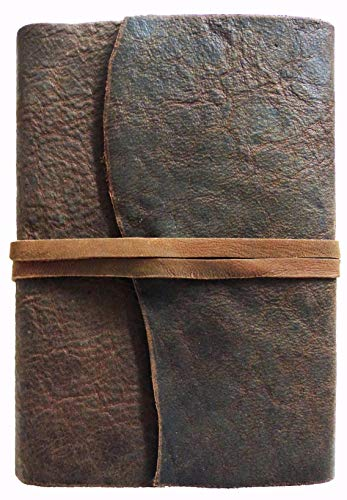 "Lederkalender\""Montana\"" - Tageskalender Timer Tagebuch Planer - 1 Seite pro Tag - austauschbarer Kalender (25 x 16 cm [ca. A5])"