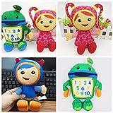 Team Umizoomi Plush Doll Toys for Kids Children --3pcs/Set